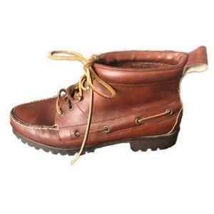 RALPH LAUREN vintage chukka moccasin boots 8.5